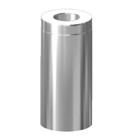 Skorstenar och rökrör till bastuugnar   Skorstenslängd Schiedel, 455 mm 120