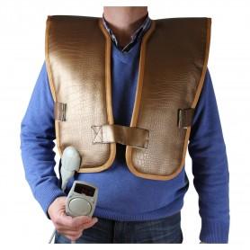 IR-Kroppsvärmare   Infraväst för rygg och bål med turmalin sten   Mått:Bredd :520 mmLängd:1020 mmTurmalin