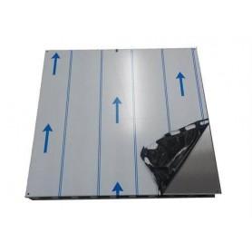 Tillbehör ved eldat bastuaggregat   Takskyddsplåt Kota rostfritt 650 x 650 mm