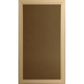 Bastufönster storlek 5x9   Bastufönster 5x9 Bronsfärgat Glas med AL-karm