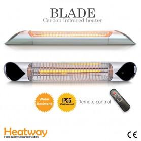 Terrassvärmare Blade Silver 2000W i hög kvalité